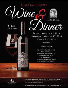 Wine Dinner template