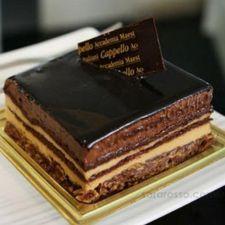 "La Torta Setteveli ""Seven Veils"" Cake Gourmet Desserts, Great Desserts, Sweet Recipes, Cake Recipes, British Bake Off Recipes, Chocolate World, Something Sweet, Cooking Time, Food Porn"