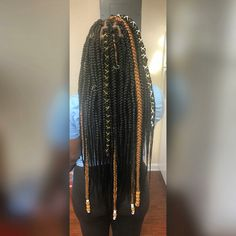 43 Cool Blonde Box Braids Hairstyles to Try - Hairstyles Trends Box Braids Hairstyles, Braided Hairstyles For Black Women, Baddie Hairstyles, My Hairstyle, African Hairstyles, Summer Hairstyles, Blonde Box Braids, Long Braids, Braids For Black Hair
