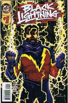 Black Lightning/ Jefferson Pierce (DC Comics)First Appearance: Black Lightning #1 (April 1977)Powers and Abilities: Electric Generation, Force field Generation.Another one of DC first black superheroes. Black Lightning is a metahuman that generates electricity for a variety of effects. He is a member of the Justice League and has also served on the Batman founded team the Outsiders. His two daughters (Thunder and Lightning) serve on superhero teams as well.