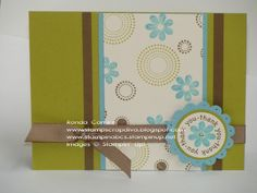 thanks a spot - sf using Stampin Up Seeing Spots