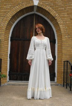 Gunne Sax dresses - everyone had to have one.