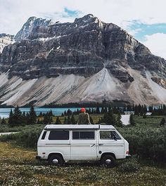 "vanlifers: """"Mountains views."" By @scottcbakken #vanlifers """