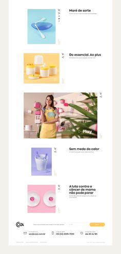 Solid Web Design Project for Coza Domestic Products