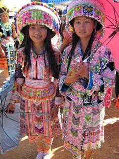 Hmong New Year 2008, Xieng Khuang, Laos