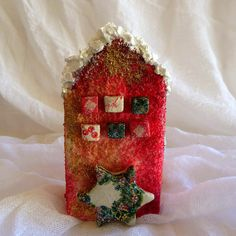 Christmas ornament ceramic ornament Christmas decoration home and living holiday decor fairytale decoration