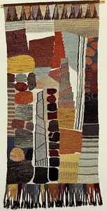 """Getürmt"" 1973, Wall Hangings and Designs - Gunta Stölzl"