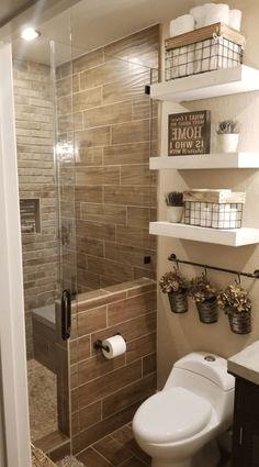 41 functional and stylish laundry room design ideas to inspire 33 « Home Design Bathroom Design Luxury, Bathroom Layout, Modern Bathroom Design, Toilet And Bathroom Design, Washroom Design, Shower Remodel, Bathroom Renovations, Budget Bathroom, Master Bathroom