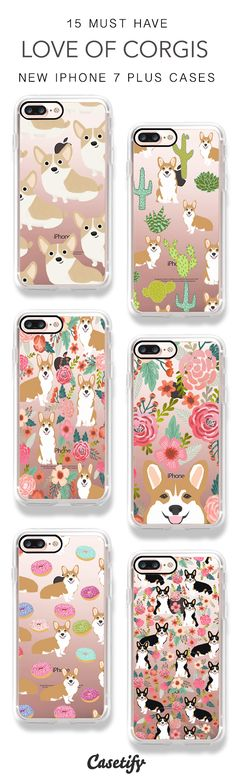 Look at the Corgis. 15 Must Have Corgis and Dogs iPhone 7 Cases and iPhone 7 Plus Cases here > https://www.casetify.com/artworks/TCEGzLzreM