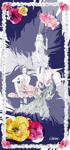love this dressed up version of kelly smith's illustration