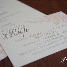 Diseño de invitaciones para bodas y matrimonios en Costa Rica Invitaciones de Boda Clásicas Classic Wedding Invitations http://www.midisenocostarica.com/