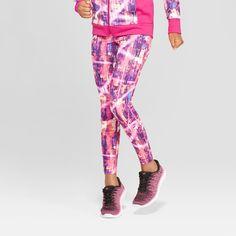 e634bcdbcb9 Girls  Printed Leggings - C9 Champion Magenta XL Color  Multicolored.  Gender  Female