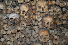 The Paris Catacombs re-opened on June 14th 2005, after several months of closure for building work. Description from thehorrorzine.com. I searched for this on bing.com/images