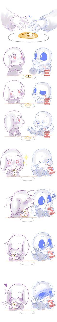 LittleTale: Sweet cookie :Soriel: by perfectshadow06 on DeviantArt