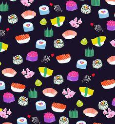 Jessica Singh Sushi Pattern
