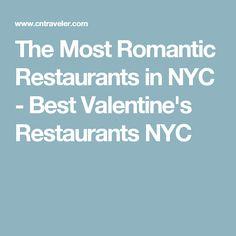 The Most Romantic Restaurants in NYC - Best Valentine's Restaurants NYC