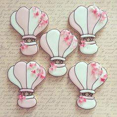 Hot air balloon   By Sugar Shimmer https://www.facebook.com/Sugarshimmer?ref=hl