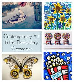 Contemporary Art in the Elementary Art Classroom: A Blog Round-up!
