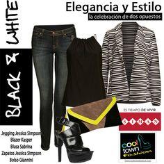 #cooltown #blacknwhite #streetstyle Fashion by Almacenes SIMAN http://www.siman.com