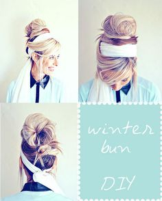 The Shine Project: Hair How To: Winter Bun Awesome Video
