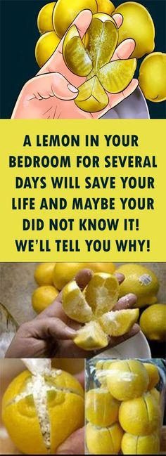 A LEMON IN YOUR BEDROOM FOR SEVERAL DAYS WILL SAVE YOUR LIFE AND MAYBE YOUR DID NOT KNOW IT! WE'LL TELL YOU WHY! – MyCrazeLife