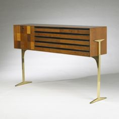 Milo Baughman, Cabinet for Arch Gordon, 1950s.