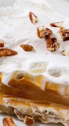 Layered Desserts, Pudding Desserts, Köstliche Desserts, Delicious Desserts, Dessert Recipes, Yummy Food, Pudding Recipes, Frozen Desserts, Sweet Desserts