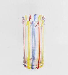 Vaso vetro CENEDESE Murano Glass Seguso Venini Cristallo vase glass di LittleOld…