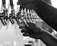 Beer photo, black and white, masculine decor, pub decor, bar decor, man cave decor
