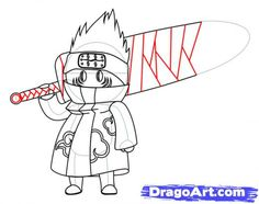 Step 7 How To Draw Chibi Kisame