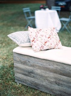 Driftwood Bench Seat - The One Day House