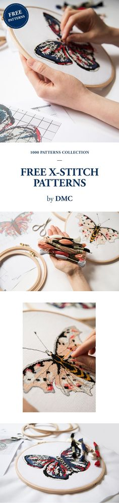 FREE EMBROIDERY PATTERN from DMC.