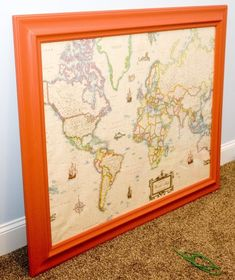 Framing on the cheap {How to frame your own posters and prints} » Babe of my Heart