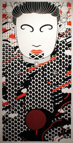 Ko Aotearoa Tenei by Johnson Witehira // Kate Sheppard Creation Myth, Maori Designs, Nz Art, Maori Art, Graphic Patterns, Printmaking, New Zealand, Textiles, Cliff
