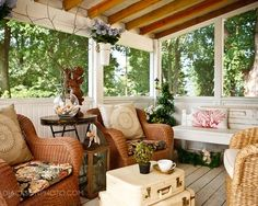 decorating ideas for screened in porches