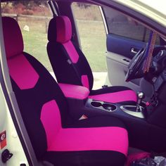 Made My Car Seat Covers And My Floor Mats Steering Wheel