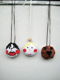 Little Helsinki: soft stuffed children's art amulets
