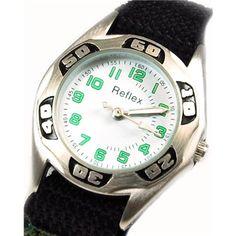 Reflex Green Camouflage White Dial Boys Sports Watch 1017110C