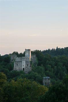 Le haut-castrum et la tour Jeannette