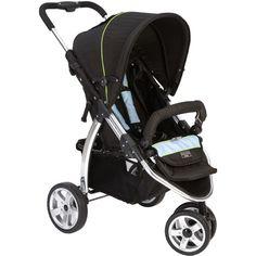 Valco Baby Latitude EX Stroller in Silk Black