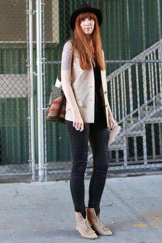 New York Fashion Week Street Style 2012