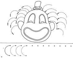 traç - Glòria P - Picasa Web Albums Tracing Worksheets, Preschool Worksheets, Printable Worksheets, Preschool Circus, Preschool Writing, Pre Writing, Writing Skills, Puzzle Photo, Spring Arts And Crafts
