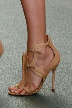 Antonio Berardi Spring 2013 shoes #lfw ~