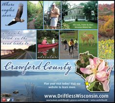 There's a lot to see and do in Crawford County, Wi...or sit back, watch the river... and do nothing at all.