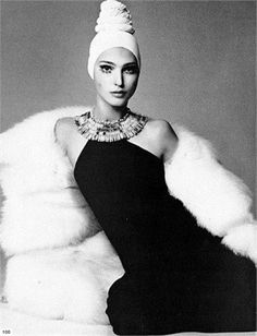 60s - Benedetta Barzini. Italian model. Famously left modeling at the height of her fame to become a fascist.