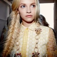 Lucky Magazine's 'How To Tie A Fishtail Braid'