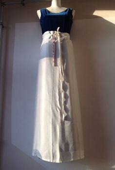 Ann Demeulemeester wrap skirt dress Patti Smith