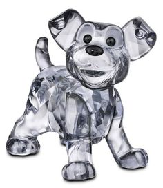 Swarovski Disney Scamp - Puppy from Lady and the Tramp.  Swarovski Crystal Figurine.