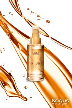 Kadus Professional VELVET OIL with Argan - the source of instantly revived hair! Just apply onto damp hair for anti-frizz effect and healthy looking hair. #velvetoil #haircare #argan