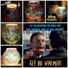 You've seen it right?  The Stargaze warmer? They're all  #different!  It's gonna #sellout. And you'll be #sad.  So text me if you need one and I'll take 10% off!   #sale #hurryup #dontforget #starwars #unique #scentsy #deal